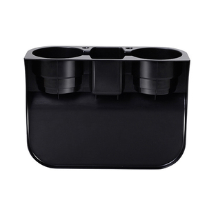 Image 5 - 자동차 컵 홀더 주최자 휴대용 다기능 자동차 컵 받침 좌석 갭 컵 병 전화 음료 홀더 스탠드 박스