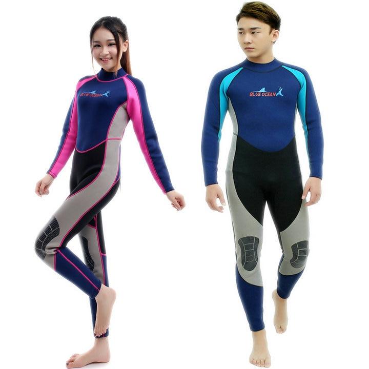 Plongée sous - marine combinaison 3 MM 2 MM costumes pour hommes, Néoprène de natation, Surf costume humide, L'équipement de maillot de bain, Combinaison, Pleine body