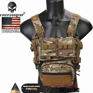 Image 3 - Emerson Telaio MK3 Mini Tactical Chest Rig Spiritus di Caccia di Airsoft Della Maglia Ranger Verde Militare Gilet Tattico w/ Magazine Pouch