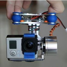 RCMOY Gopro Brushless Camera Gimbal w/Motors &Controller,Aerial movie for Walkera