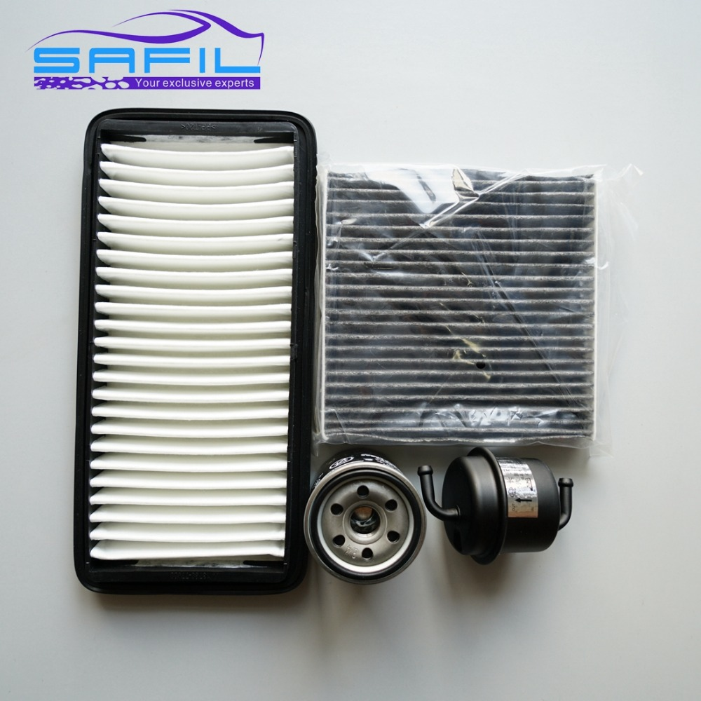 set filters for SUZUKI swift 1.3 air /+Oil /+ fuel /+ cabin filter OEM:  13780 77J00 95860 63J10 000 15403 77J00 15208 53J00-in Air Filters from  Automobiles ...