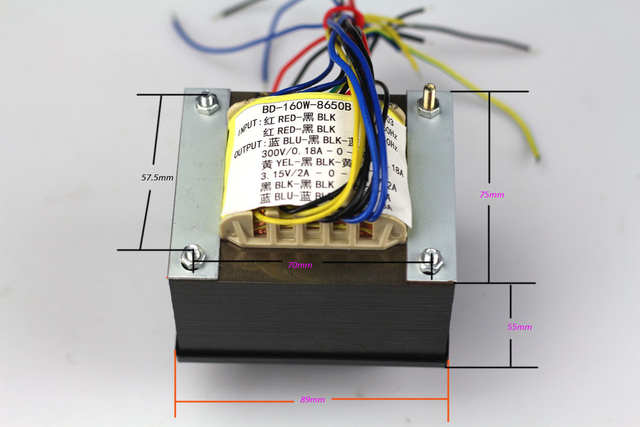 300v wire tube amp