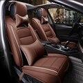 (Delantero y Trasero) cubierta de asiento de coche de Cuero especial Para Benz A B C D Es serie CLA CLK Maybach Viano Vito Sprinter auto accesorios