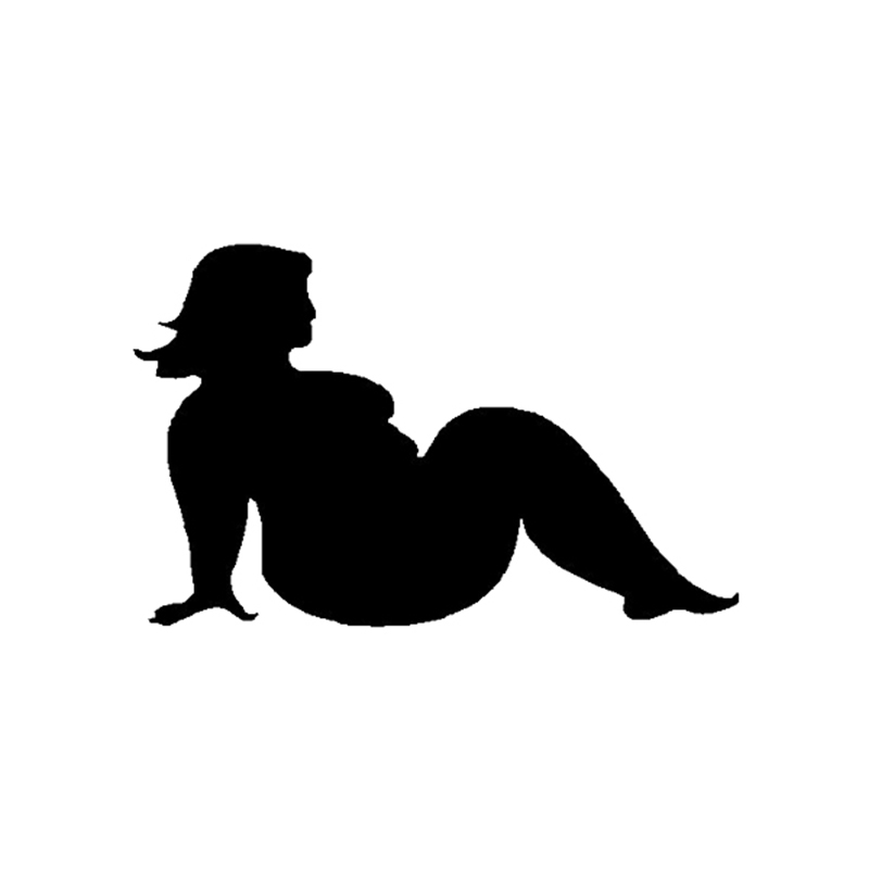 Пухлые Trucker Обувь для девочек виниловая наклейка Забавный JDM BBW Mudflap бездорожье 4x4 4WD автомобиля Стикеры грузовик окно ноутбук бампер дома сте...