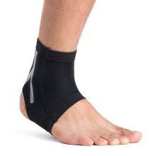 Kuangmi 1 Piece Compression Ankle Sleeve Foot Guard Support Sports Heel Arch Protector Prevent sprains Pain Relief Sock