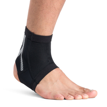 Kuangmi 1 Piece Compression Ankle Sleeve Foot Guard Ankle Support Sports Heel Arch Protector Prevent sprains Pain Relief Sock