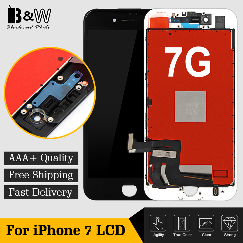 20PCS LOT No Dead Pixel LCD For iPhone 7 LCD Display With Touch Screen Digitizer Assembly