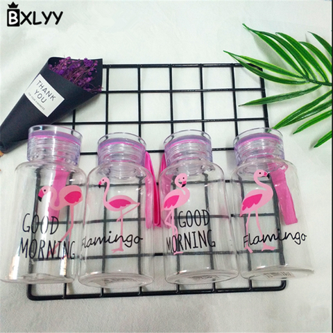 BXLYY Plastic Pink Flamingo Water Bottle 300ml Portable Sports Shaker Home Decor Accessories Bottle Gifts for The New Year.8z Multan