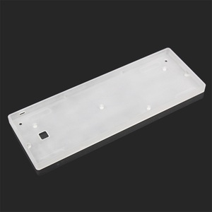 Image 3 - KBDfans new arrival  dz60  case Acrylic CNC Case Milk Case Shell PCB Costar Plate For 60% GH60 Mini Mechanical Keyboard