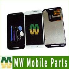 1PC/Lot For Motorola MOTO G3 G 3rd Gen XT1544 XT1550 XT1540 XT1541 LCD Display +Touch Screen Digitizer &Tool Black White Color