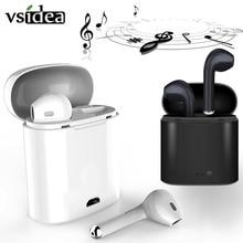 i7s TWS Wireless earphone in-ear Bluetooth binaural Earbuds Headset With Chargin
