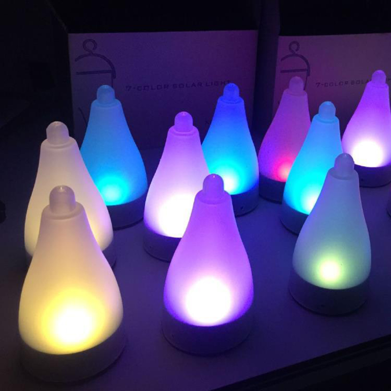 Us 5 78 40 Off Solar Energy Gr Inserting Led Decorative Lighting Lamp Garden Outdoor Festival Party Color Changeable Lamps In From