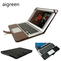Fashion PU Leather Protecter Sleeve Case For Macbook Air 11 Air 13 Pro13 Pro 15 Cover