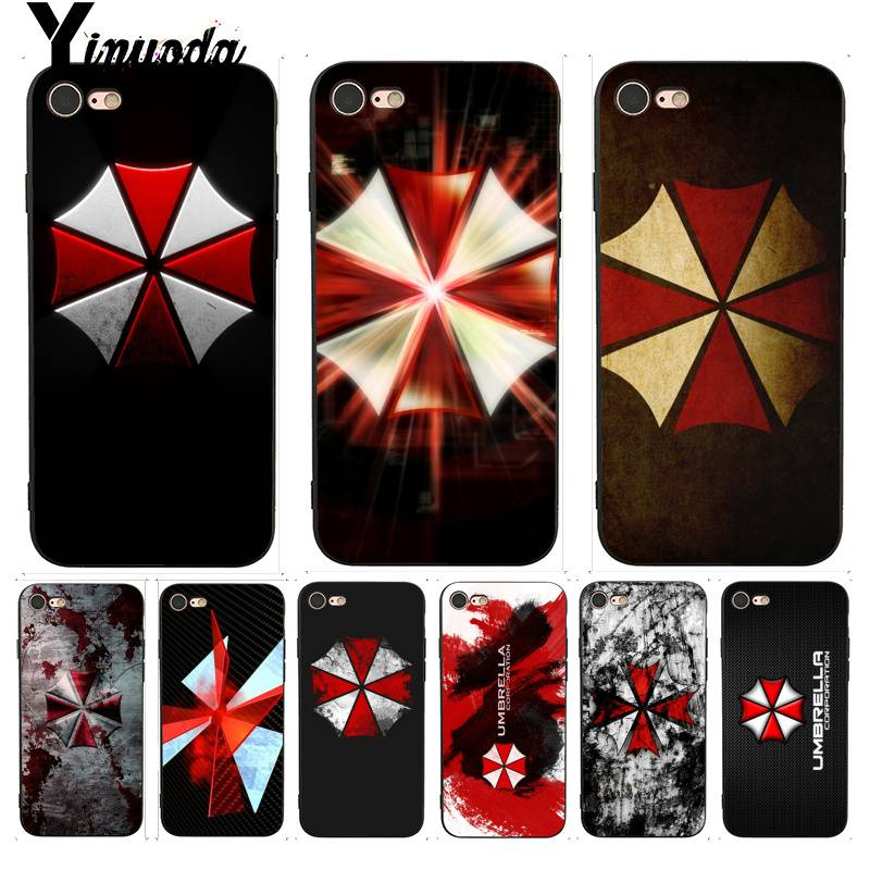 Dashing Yinuoda Resident Evil Umbrella Logo Multi Colors Luxury Phone Case For Iphone X 6 7 6s 7plus 8 8plus 5 5s Xr Se Xs Xsmax Cellphones & Telecommunications Half-wrapped Case