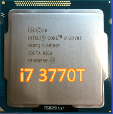 Intel  Core i7 3770T i7-3770T  2.5GHz 8M SR0PQ 45W Quad Core desktop processors Computer CPU Socket LGA 1155 pin scrattered