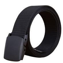 Trend Unisex Belt Automatic buckle casual Outdoor sport prevent allergy