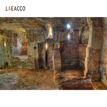 Laeacco Old Stone Cave Hole Light Interior Photographic Backgrounds Customized Photography Backdrops For Photo Studio