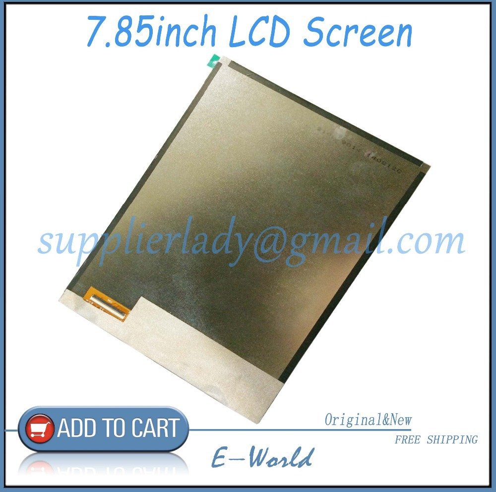 Original 7.85inch IPS LCD Display For TurboPad 704 Internal LCD Screen Panel 1024x768 Replacement Free Shipping original 7 inch 163 97mm hd 1024 600 lcd for cube u25gt tablet pc lcd screen display panel glass free shipping