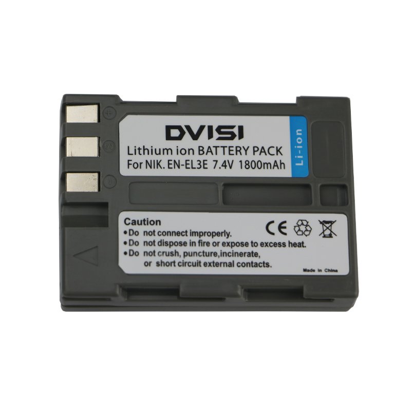 7.4V 1.8Ah EN-EL3e EN EL3e ENEL3e Rechargeable Camera Battery for Nikon D90 D700 D300 D80 D70 D50 D200 D300s D100 D70s