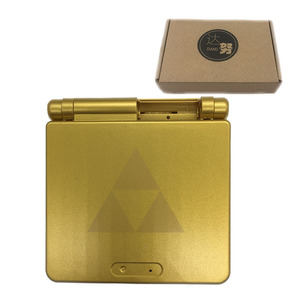 Image 2 - Gold Plastic Housing Shell Case Cover for GBA SP Majoras Mask Limited Edition