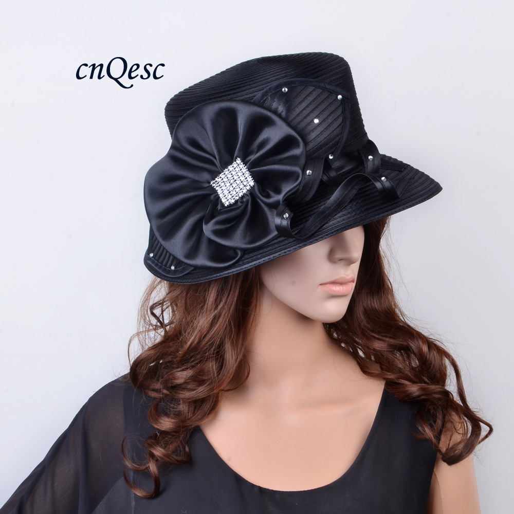 Ladies Hats Around Church Formal dress wedding women s hat for Kentucky Derby formal occasion with