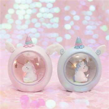 Mini Unicorn Night Light Home Decoration 3