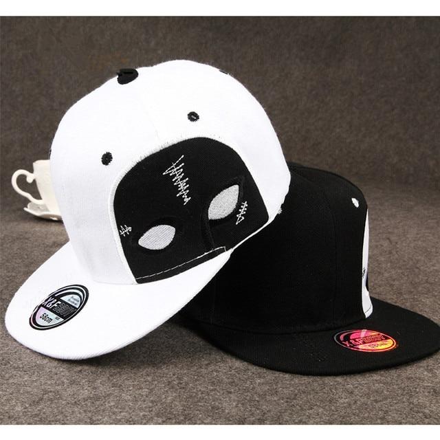New Design Spirited Away faceless male Skateboard Hip-hop Men Bones  Snapback Hats Fashion Fitted Baseball Cap Hat Caps For Men 02f961b0393