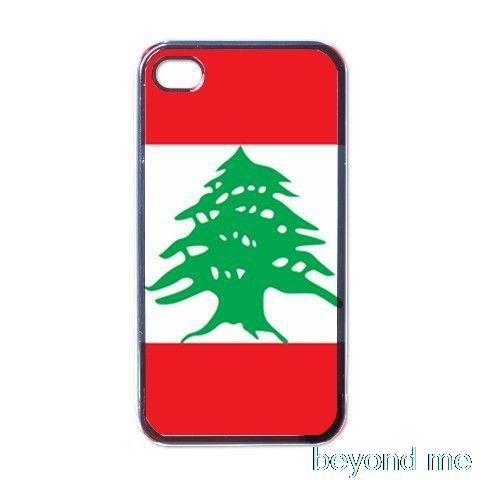 Flag of Lebanon Cover Case for iPhone 4 4s 5 5s 5c 6 Plus Phone Case