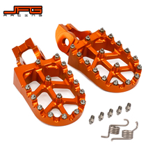 Pedals Footpegs EXCF SX125 Motorcycle New CNC for KTM XCW SXF 250 450 SX85 350 530