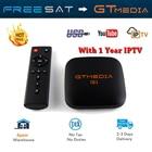 GTMEDIA G1 Android 7.1.2 Amlogic S905W 17.3 1GB/8GB 4K TV BOX 2.4G WIFI LAN PK X96 MINI TX2 R2 TV BOX Support IPTV YouTube wifi