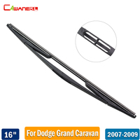 Cawanerl Car Rear Window Wiper Blade 16 400mm Rubber Back Windscreen Wiper 1 Piece For Dodge