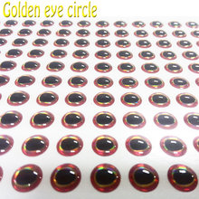 2018NEW fishing 3D eyes the golden circle lure 1000pcs/lot