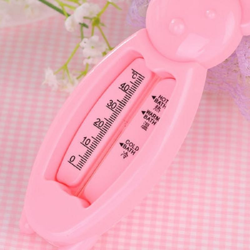 1Pcs Bath Water Thermometer For Baby Newborns A Child Bathing Cute Bear Safety Shower Thermometer Random Colors