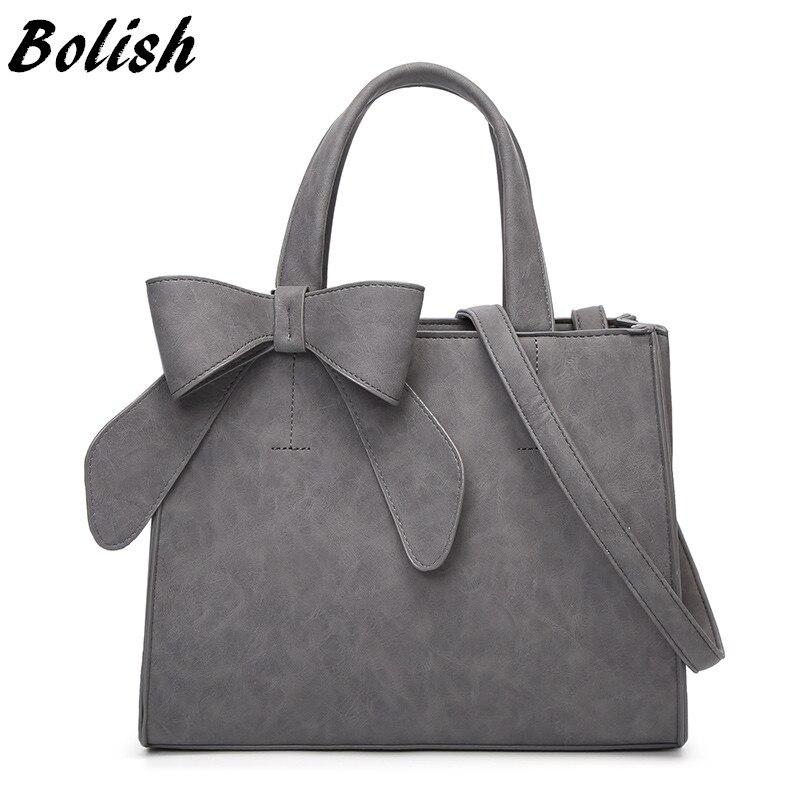 Bolish trasporto di Goccia Borsa Vintage di Spalla Femminile Causale borsa Lady Giornaliero Shopping Crossbody Bag Bolsa Feminina De marca Famosa