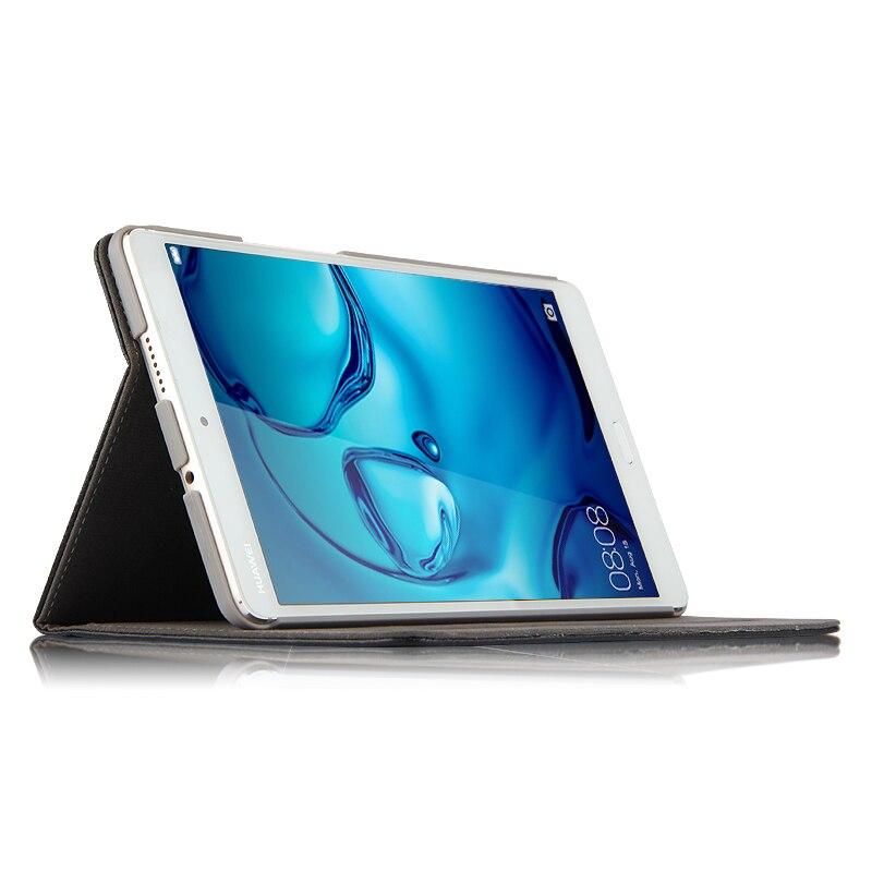 Case Cowhide Huawei jaoks MediaPad M3 Smart kate Ehtne nahast - Tahvelarvutite tarvikud - Foto 5