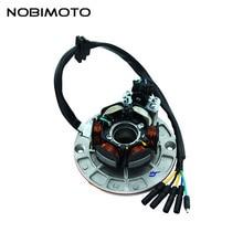 Внедорожные магнитные катушки статора мотора высокая производительность редкоземельный статор катушки для Yinxiang 150cc-160cc двигателей CQ-135-1