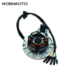 Off Road Magnet Motor Stator Coils High Performance Rare-earth Magneto Stator Coils For Yinxiang 150cc-160cc Engines CQ-135-1(China)