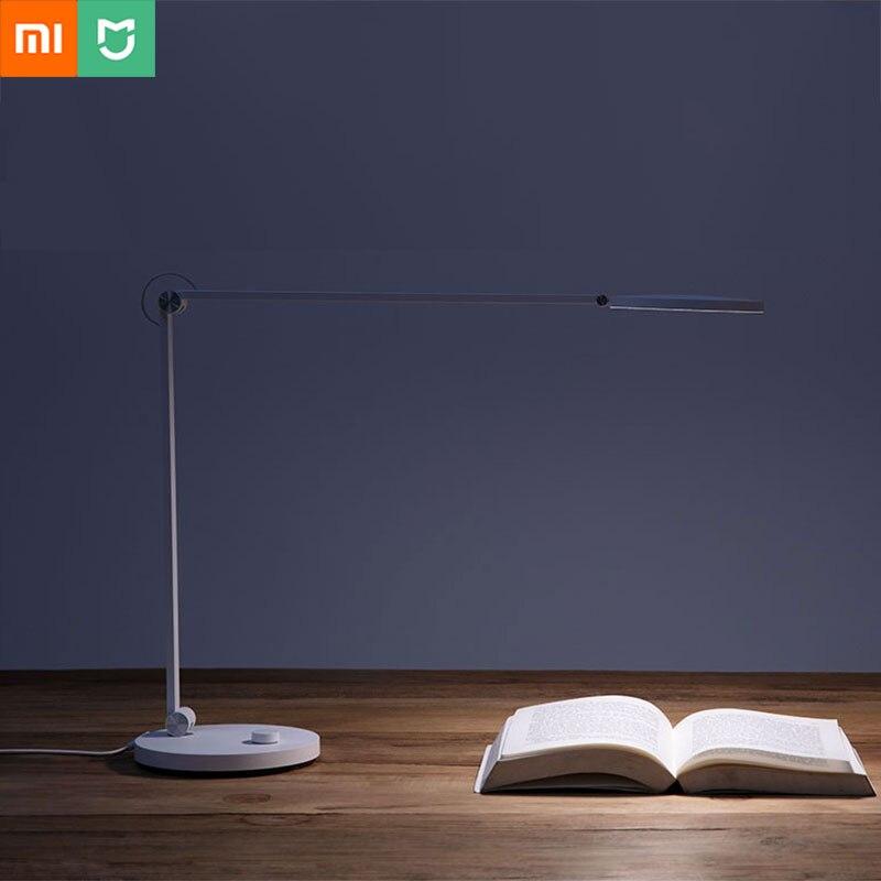 Xiao mi yeelight mi jia casa inteligente mesa led luz da lâmpada de controle remoto wi fi bluetooth proteção para os olhos estudo leitura branco