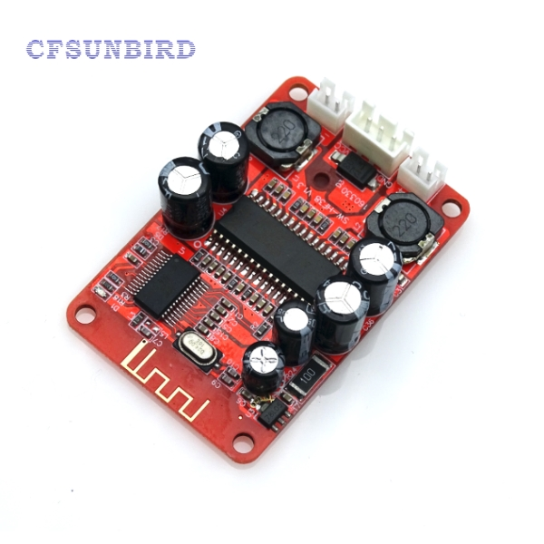 5pcs Bluetooth digital power amplifier board 2 x15w bluetooth speaker with amplifier suction a top plate Bluetooth V2.0 10~24VDC 5 pcs pam8406 digital amplifier board with volume potentiometer 5wx2 stereo