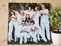 New Quality Modern Family Frameless Painting Decorative Pictures