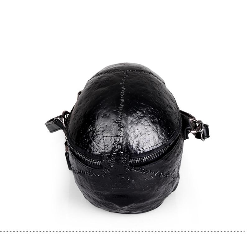 Arsmundi Originality Women Bag Funny Skeleton Head Handbag Single Shoulder Bag Fashion Designer Satchel Skull Messenger Bags in Top Handle Bags from Luggage Bags