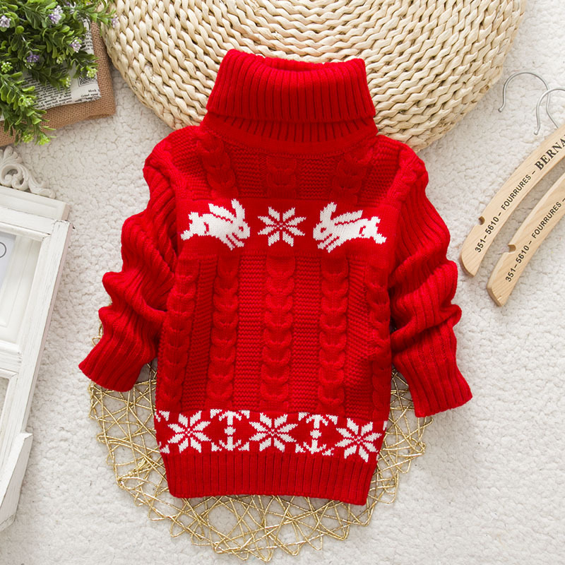 Sundae-Angel-Boys-sweater-For-Kids-Baby-Turtleneck-Thick-Long-Sleeve-Rabbit-Cartoon-Winter-2017-baby-girl-sweater-2