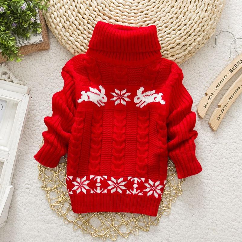 Sundae-Angel-Boys-sweater-For-Kids-Baby-Turtleneck-Thick-Long-Sleeve-Rabbit-Cartoon-Winter-2017-baby-girl-sweater-2