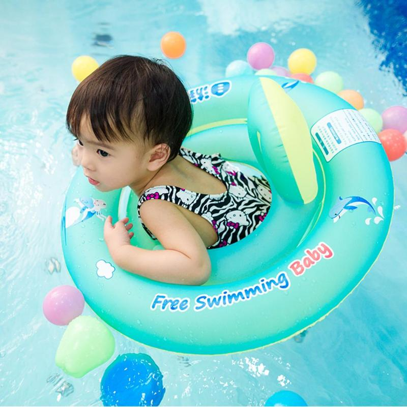 Baby Swimming Ring Floating Kids Inflatable Floats Seat for Pool Bathtub Swimming Pool Free Shipping Inflatable Toys