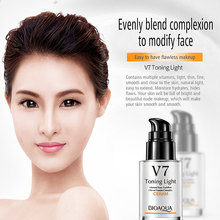 Perfect Whitening Concealer 30ml Moisturizing Oil Control Invisible pores CC BB Cream V7 Lazy Nude Makeup Face Cream