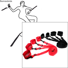 Anti-hook plush bed bundled straps couples happy device sexy legs with adult supplies games sex handcuff flirting bongdage