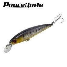 Proleurre 1PCS Floating Minnow Fishing Lure Laser Hard Artificial Bait 3D Eyes 11cm 13.4g Fishing Wobblers Crankbait Minnows