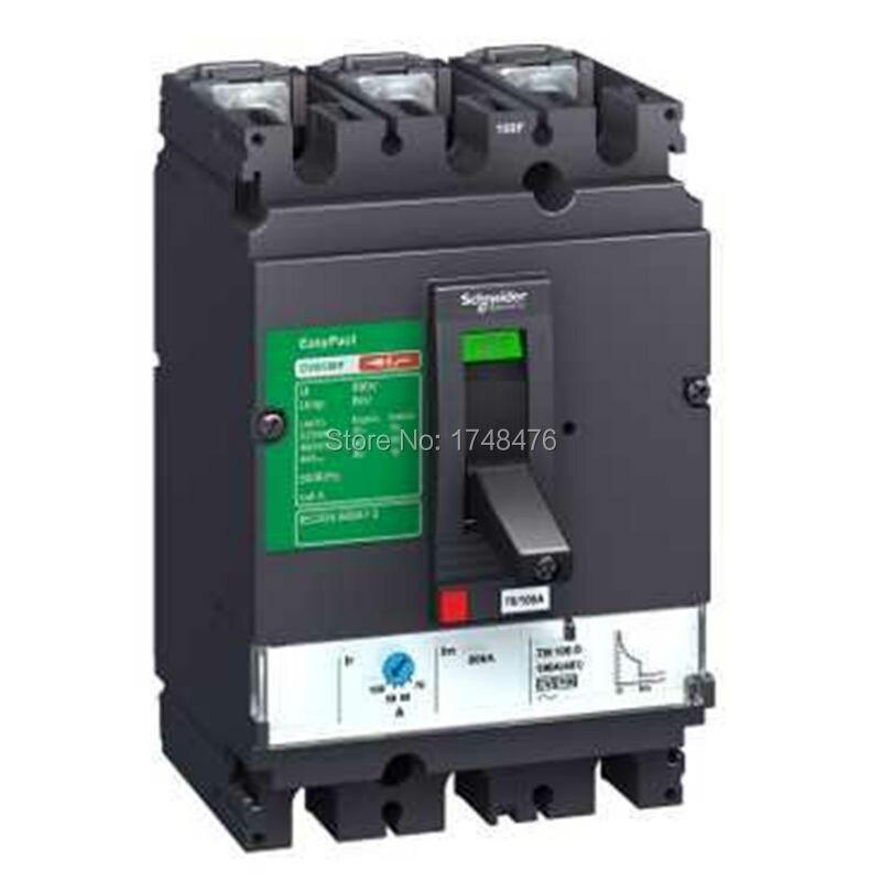 ФОТО NEW  LV510325 Easypact CVS - CVS100B TM63D circuitbreaker - 4P/4d