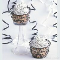 120 stks/partij Cake Cupcake Papier Wrapper Bruiloft Party Feest Sweetmeat Laser Cut Omliggende Rand Bladeren Wijnstok Ontwerp wc561