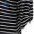 Modelos de verano de la camiseta de algodón de calidad popular de la manera artículo enrejado estilo de la camiseta de las mujeres tops t-shirt